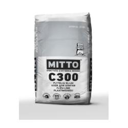 Plytelių klijai  MITTO C300 (25 kg)