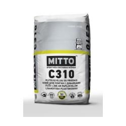 Plytelių klijai su priedais MITTO C310 (25 kg)