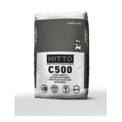 Mūro mišinys  MITTO C500 (40 kg)