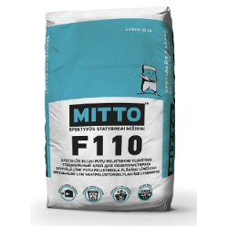Specialūs klijai pūtų polistireno plokštėms MITTO F110 (25 kg)