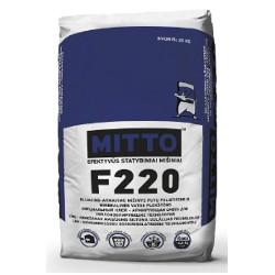 Armuojamas tinkas ir klijai šilumą izoliuojančioms plokštėms  MITTO F220 (25 kg)