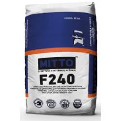 Elastingas armavimo mišinys su sintetiniu plaušu  MITTO F240 (25 kg)