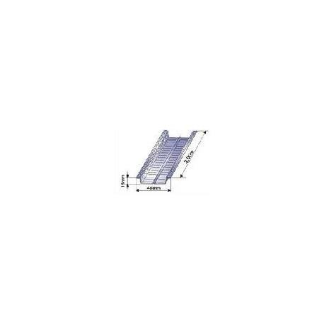 OMEGA Tiesioginio tvirtinimo profilis 15x46 mm