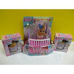 """UP  """"Jotvingis"""" vaikų prekių skyriuje prekiaujame lėlytėmis  lėlytėmis L.O.L. Surprise."""
