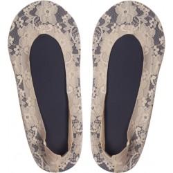 Moteriškos medvilninės, silikoninės pėdutės puikus pasirinkimas atšilus orams.