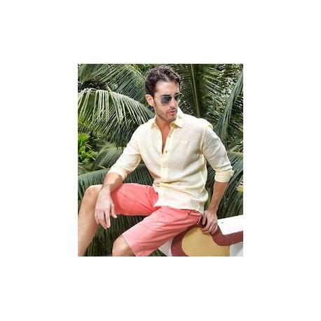 Karštai vasaros dienai - lininiai marškiniai vyrams