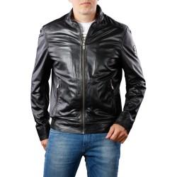 """Naujos kolekcijos, vokiečių firmos ,,Milestone"""" stilinga ir kokybiška natūralios odos vyriška striukė."""