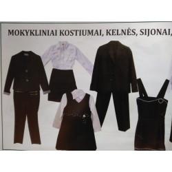 Kostiumams, kelnėms, švarkams, sijonams, sarafanams ir palaidinėms NUOLAIDA -15%