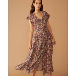 """Pavasaris - tu žinai ką tai reiškia, gėlių raštai tavo spintoje!!! Firmos ,,Leo & Ugo"""" ilga ir lengva suknelė moterims."""