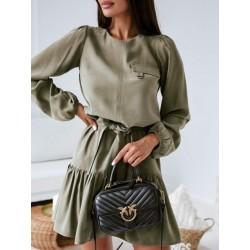 """Lenkų firmos ,,WIB's"""" suknelės iš naujos 2021 m. rudens/žiemos kolekcijos."""